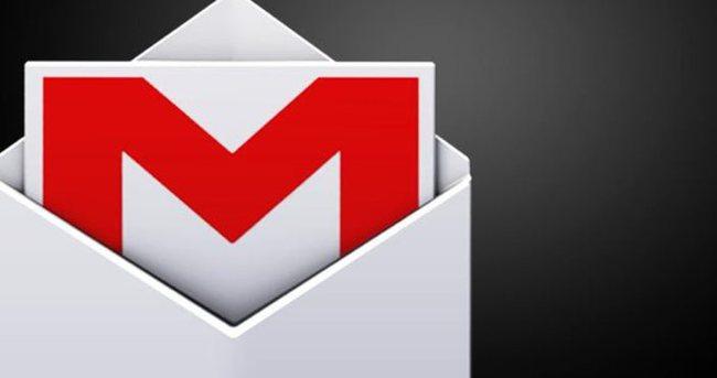 Gmail'de büyük hata