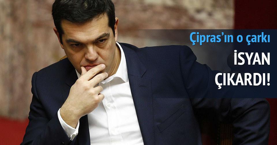Çipras'ın çarkı isyan çıkardı