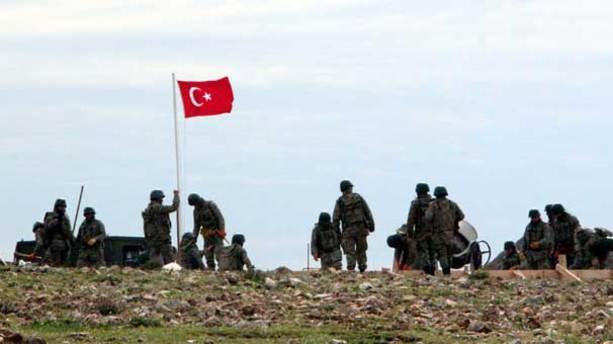 Türk askeri orada!