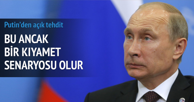 Putin'den 'Savaş çıkar mı' sorusuna cevap