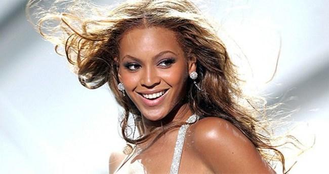 Beyonce'den şok frikik