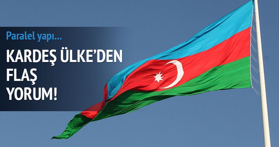 Azerbaycan'dan paralel yapı desteği