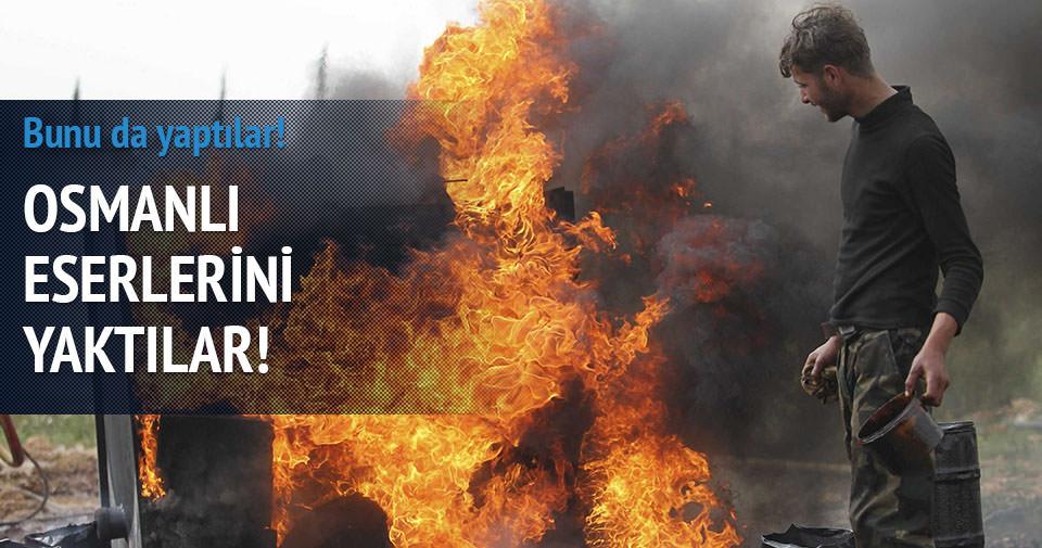 IŞİD Osmanlı emanetlerini yaktı!