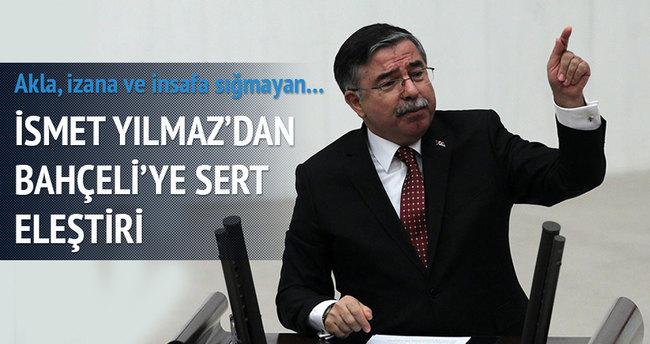 Milli Savunma Bakanı'ndan Bahçeli'ye sert tepki