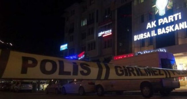 AK Parti il binası önünde bomba alarmı