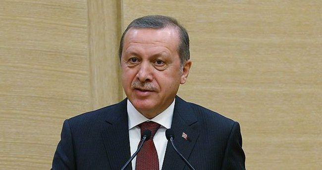 Erdoğan: Başka yerlere bağımlılığın mı var
