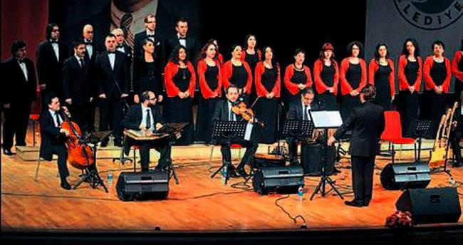 Kepez'de sanat müziği konseri