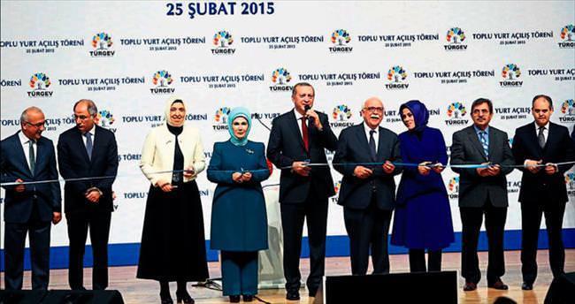 TÜRGEV'in 25. yurdu 'Adile Sultan' açıldı