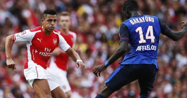 Arsenal Monaco maçı özeti ve golleri (GENİŞ ÖZET)