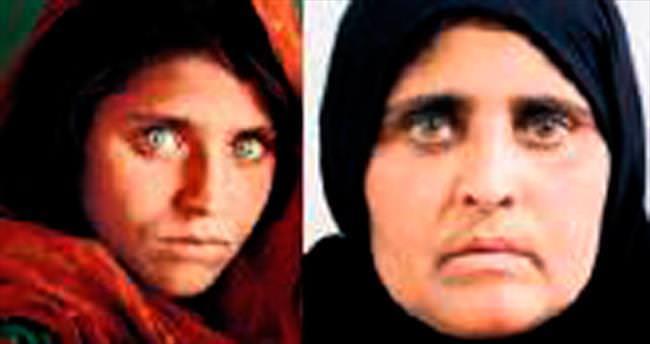 Afgan Mona Lisa artık yaşlı bir anne