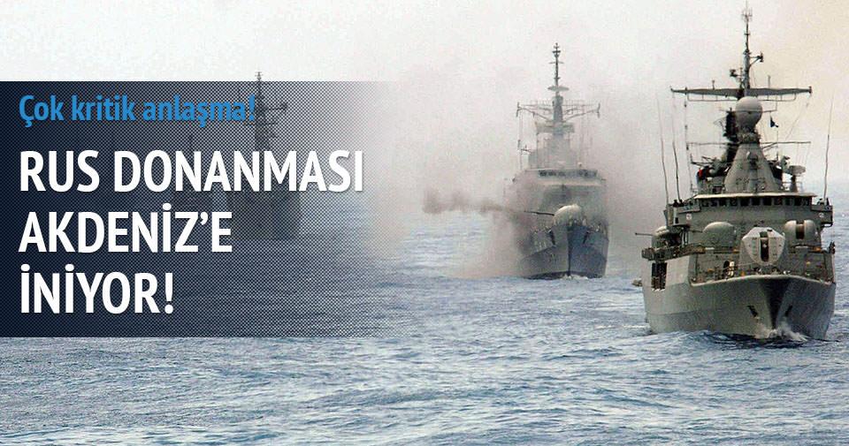 Güney Kıbrıs ve Rusya'dan donanma anlaşması