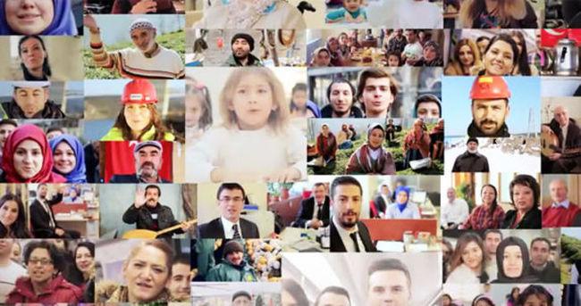 Cumhurbaşkanı Erdoğan için doğum günü klibi