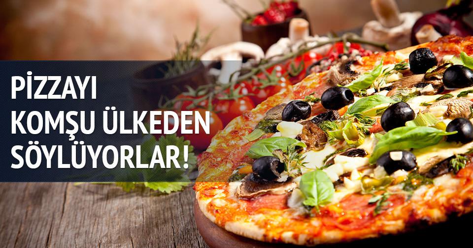 İsviçreliler pizzayı Almanya'dan söylüyor!