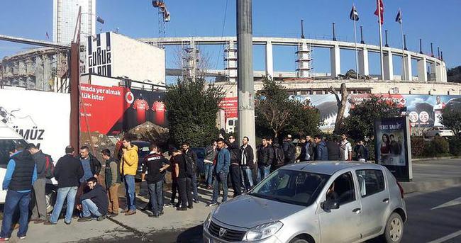 Beşiktaş-Liverpool maçı için bilet nöbeti