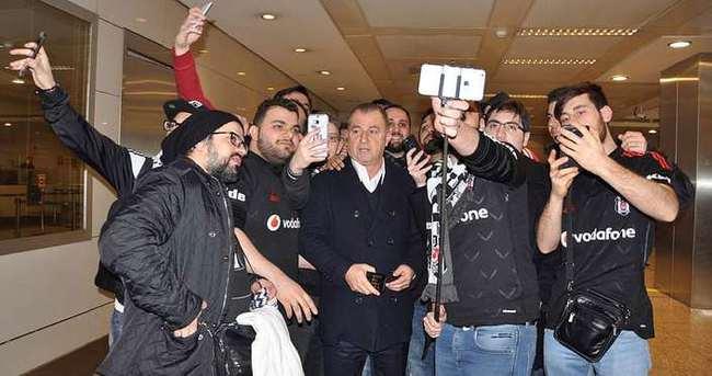 Fatih Terim Beşiktaşlılarla karşılaşırsa...