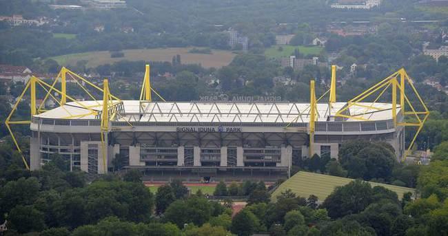 Borussia Dortmund'un stadının otoparkında bomba bulundu