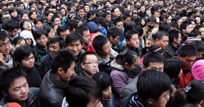 Çin'in nüfusu 7 milyon arttı