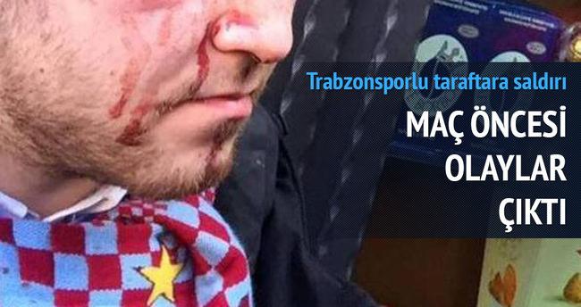 Napoli-Trabzonspor maçı öncesi kan aktı, 5 yaralı