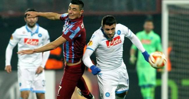 Napoli - Trabzonspor maçı özet ve golleri (GENİŞ ÖZET)