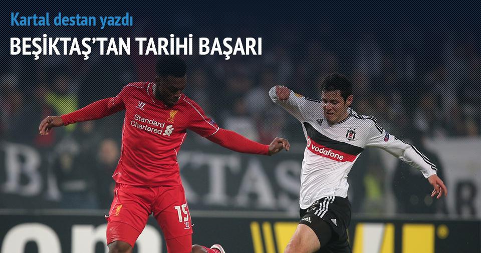 Beşiktaş Liverpool özeti ve golleri (Destan böyle yazıldı)
