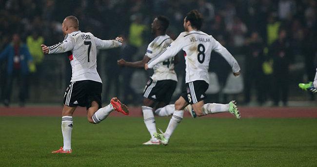 Beşiktaş'ın Liverpool galibiyeti sosyal medyayı salladı
