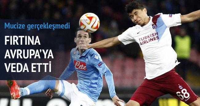Napoli Trabzonspor maçı özeti ve golleri (Trabzon buraya kadar)