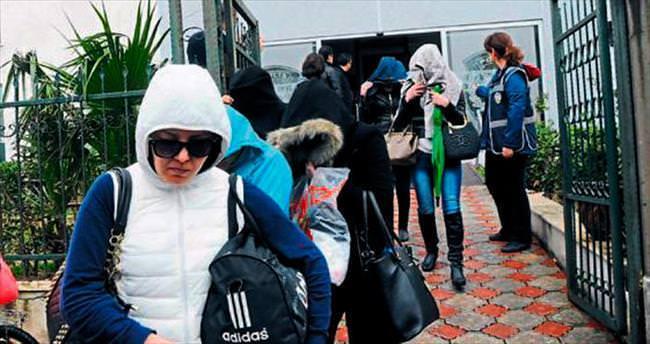 Antalya'da fuhuş baskını