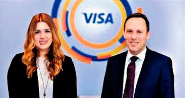 Harcamaların %20'si Visa ile yapılıyor