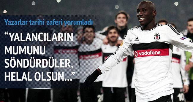 Yazarlar Beşiktaş-Liverpool maçını yorumladı