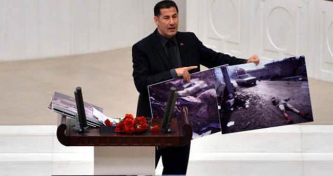 Hocalı Katliamı'nı Meclis'te fotoğraflarla anlattı