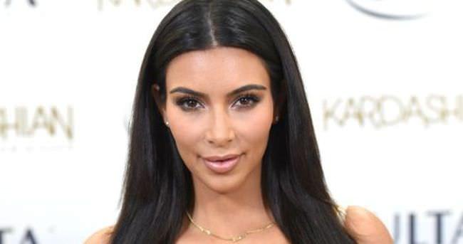 Kim Kardashian'dan saç rutini