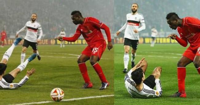 Mario Balotelli'den tepki çeken hareket
