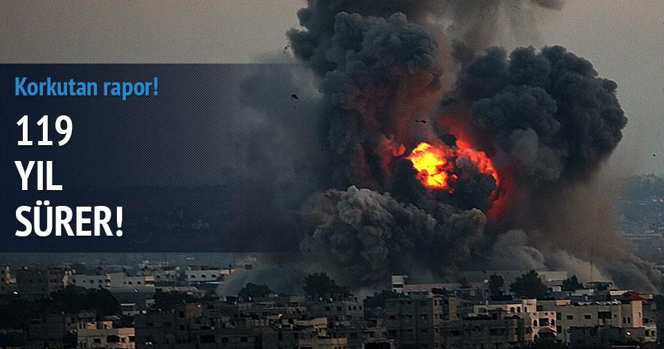 Gazze'nin yeniden imarı 119 yıl sürer!