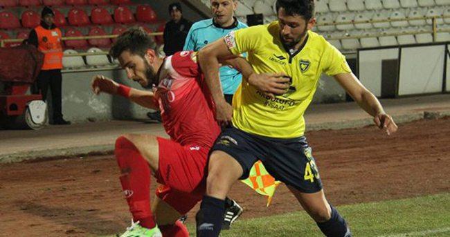 Boluspor-Bucaspor maçı özeti ve golleri (Bolu'da kardeş payı)