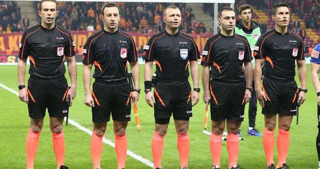 Galatasaray Erciyes maçında hakemler bir ilki yaşadı
