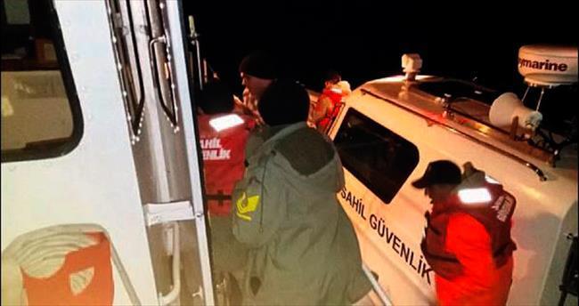 Antalya'da kaçak göçmen operasyonu