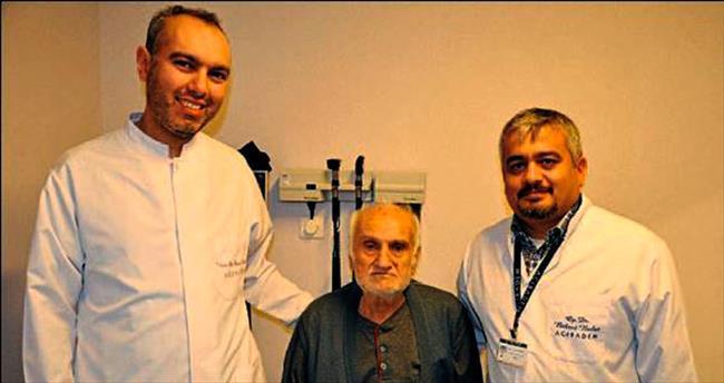 92 yaşında gelen ikinci hayat şansı mutlu etti