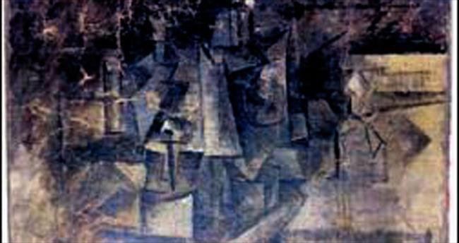 Kayıp Picasso tablosu havaalanında bulundu