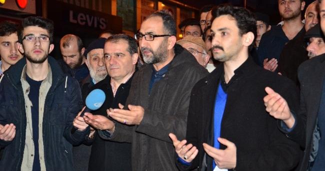 Sabah namazı sonrası 28 Şubat protestosu