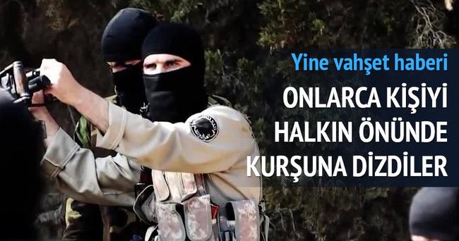 IŞİD, Irak'ta 32 güvenlik görevlisini kurşuna dizdi