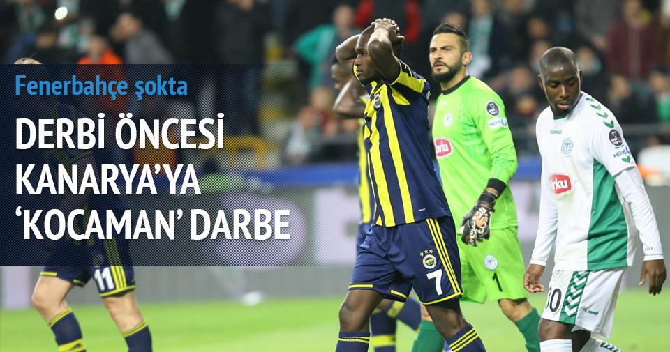 Fenerbahçe'ye derbi öncesi şok