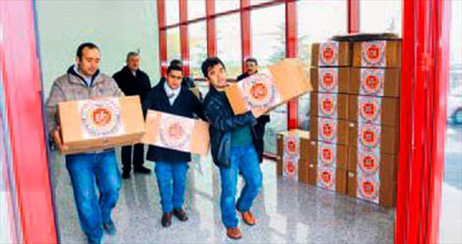 Elmadağ'dan büyük yardım kampanyası