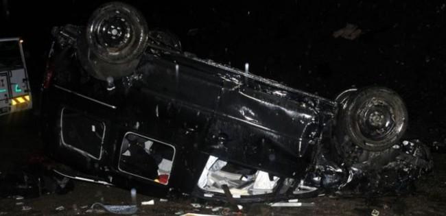 Kahramanmaraş'ta feci kaza: 2 ölü, 1 yaralı