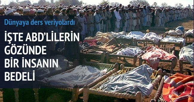 Utanç: Katledilen sivilin 'bedeli' 3 bin 426 dolar