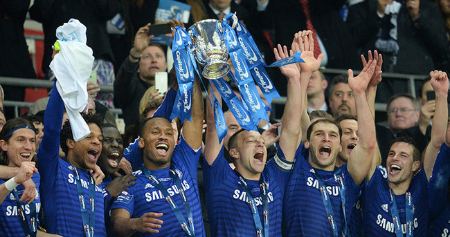 İngiltere Lig Kupası Chelsea'nin