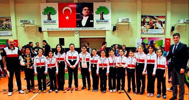 Sanko okulları'nın basketbol başarısı