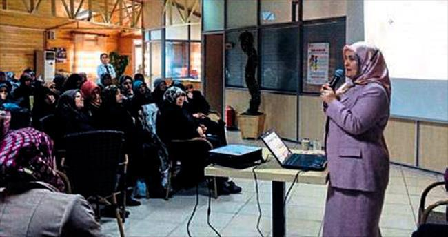 Sincanlı kadınlara evlilik semineri
