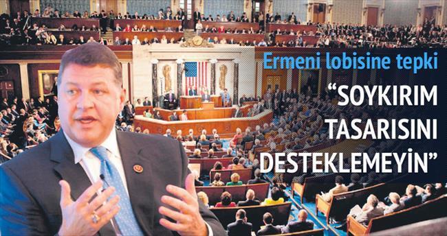 Cumhuriyetçi üyeden Ermeni lobisine tepki