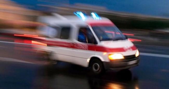 Kocaeli'nde trafik kazası: 2 yaralı