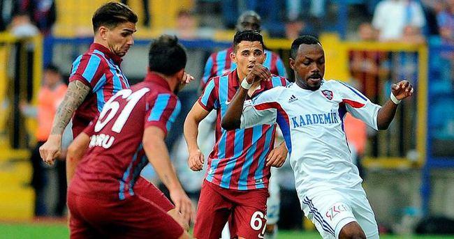 Trabzonspor - Kardemir Karabükspor maçı CANLI